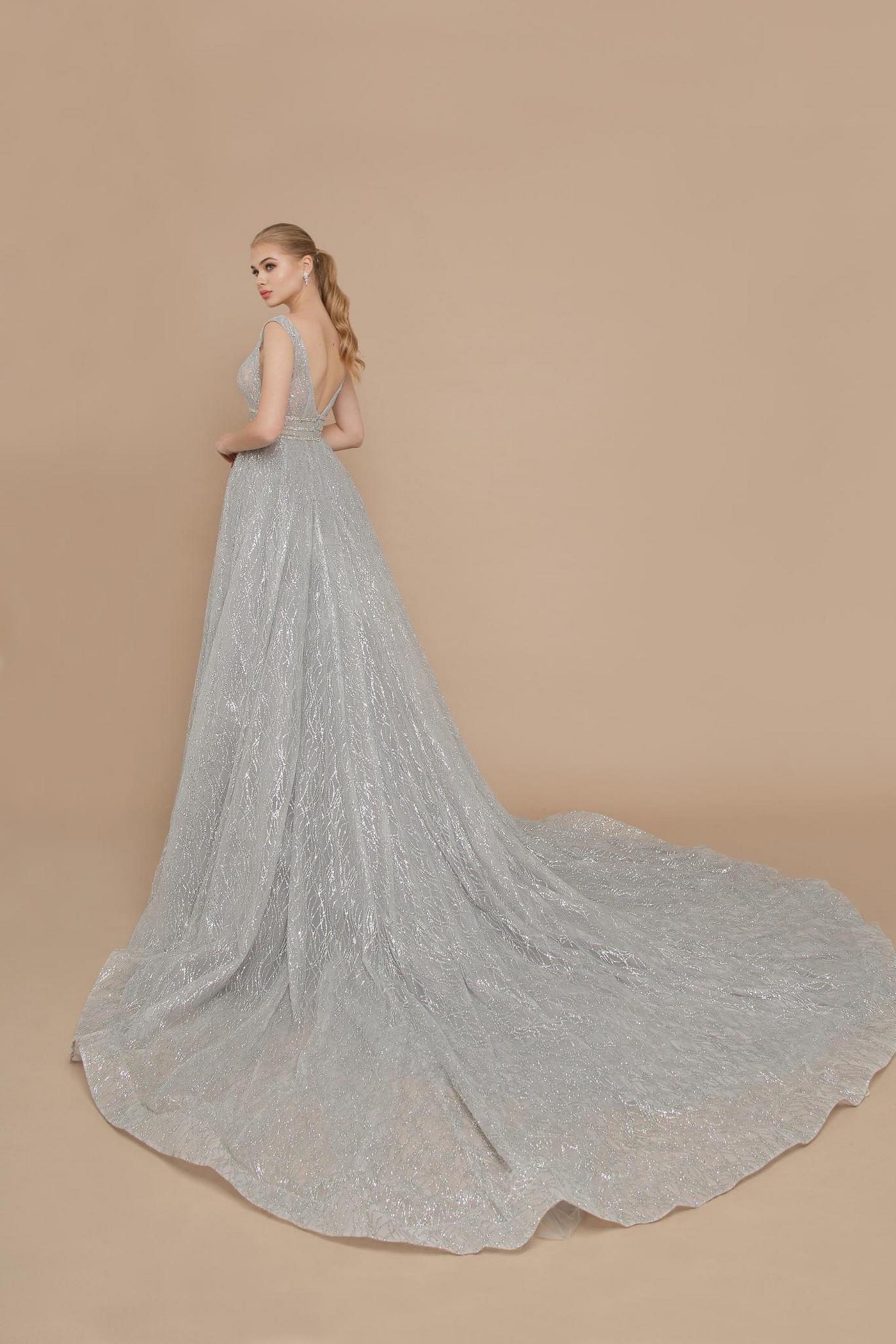 ricca sposa Вечернее платье SILVER — 20-V-006